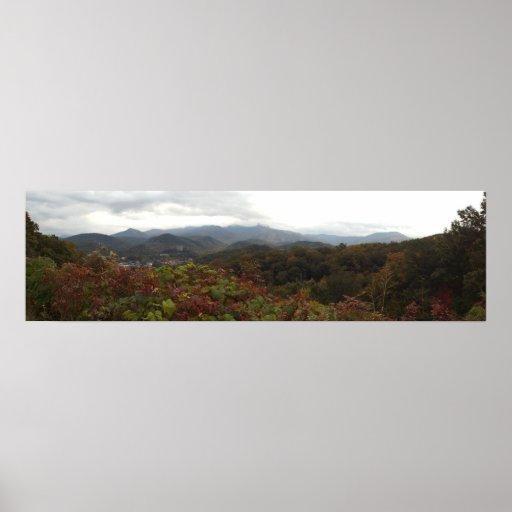 Great Smoky Mountains National Park at Gatlinburg Poster