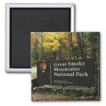 Great Smoky Mountains National Park Autumn Sign