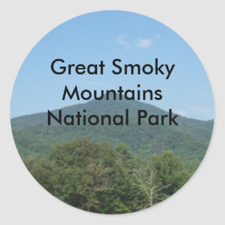 Great Smoky Mountains National Park Stickers