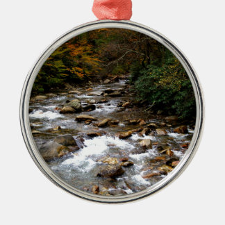 Great Smoky Mountains river Christmas Ornament