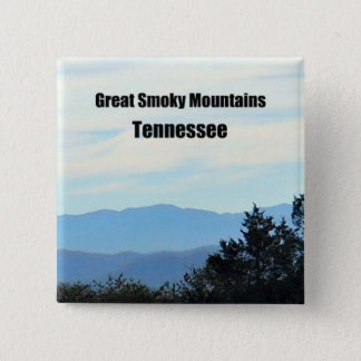 Great Smoky Mountains, Tennessee 15 Cm Square Badge