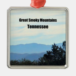 Great Smoky Mountains, Tennessee Christmas Ornament
