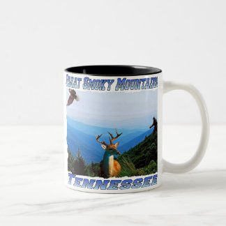 Great Smoky Mountains Tennessee Coffee Cup