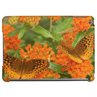 Great Spangled Fritillaries on Butterfly Milkweed Cover For iPad Air