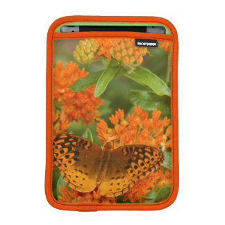 Great Spangled Fritillaries on Butterfly Milkweed iPad Mini Sleeve