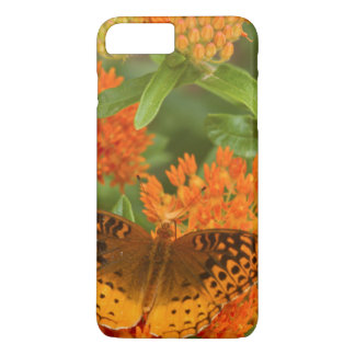 Great Spangled Fritillaries on Butterfly Milkweed iPhone 8 Plus/7 Plus Case