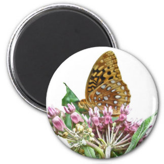 Great Spangled Fritillary Coordinating Items 6 Cm Round Magnet