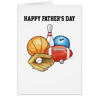 Great Sport Father's Day Card