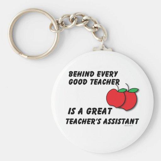 Great Teacher's Assistant Keychain