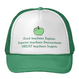 Great Teachers Inspire Hat
