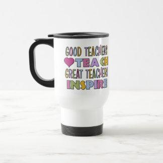Great Teachers Inspire Coffee Mug