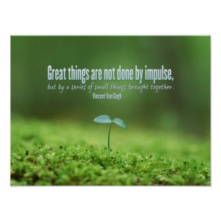 Great Things Inspirational Poster