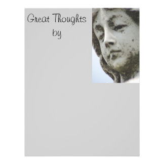 Great thoughts by....letter head IV Flyer Design