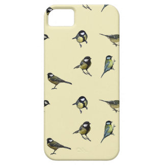 Great tit pattern iPhone 5 case