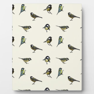 Great tit pattern plaque