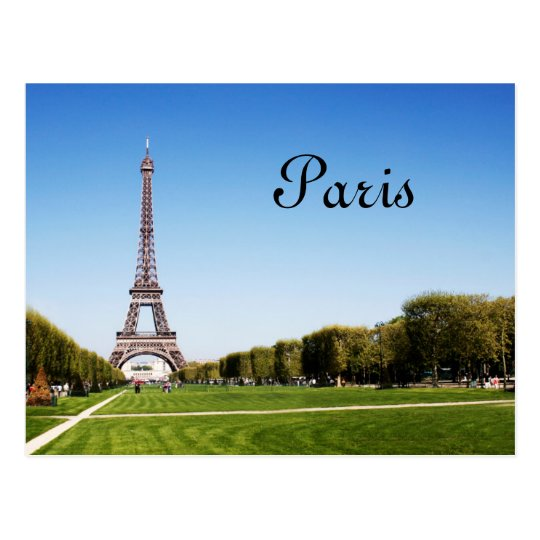 Great to be in Paris Postcard
