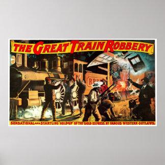 Great Train Robbery - Print