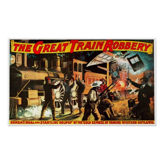 Great Train Robbery - Print