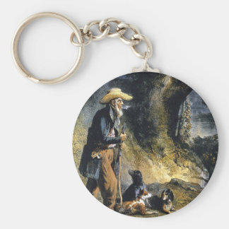 Great Traveller Charles Lesueur by Karl Bodmer Key Chain