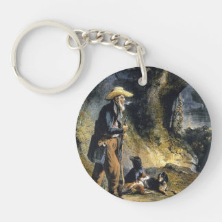 Great Traveller Charles Lesueur by Karl Bodmer Acrylic Keychain