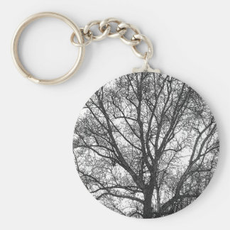 Great  Tree Basic Round Button Key Ring