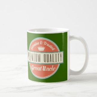 Great Uncle (Funny) Gift Basic White Mug