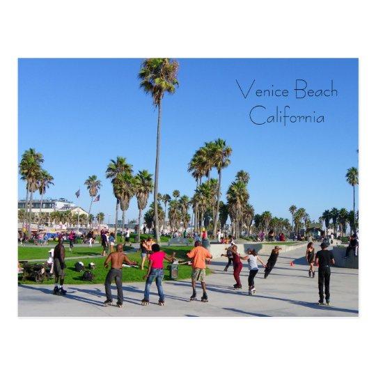 Great Venice Beach Postcard! Postcard