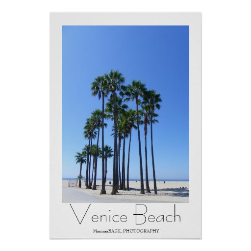 Great Venice Beach Poster!