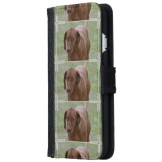 Great Vizsla Dog iPhone 6 Wallet Case