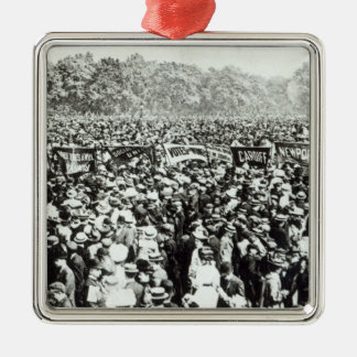 Great Votes for Women demonstration in Hyde Christmas Ornament