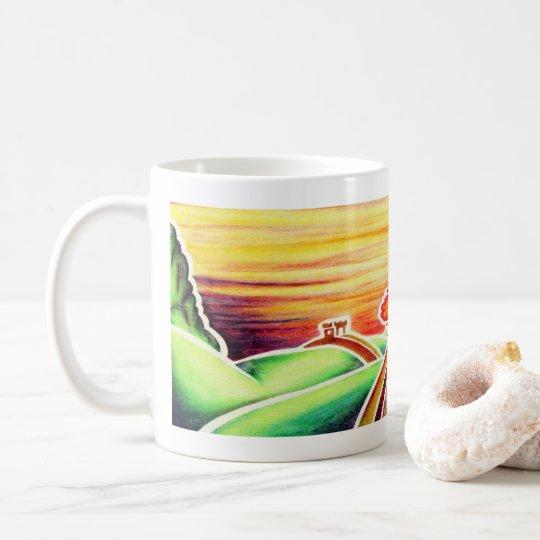 Great Wall by Blaise Gauba Coffee Mug