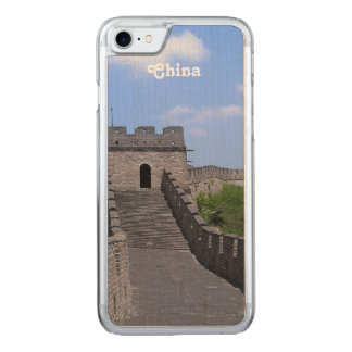 Great Wall in China Carved iPhone 8/7 Case