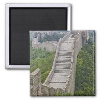 Great Wall, Jinshanling, China Square Magnet