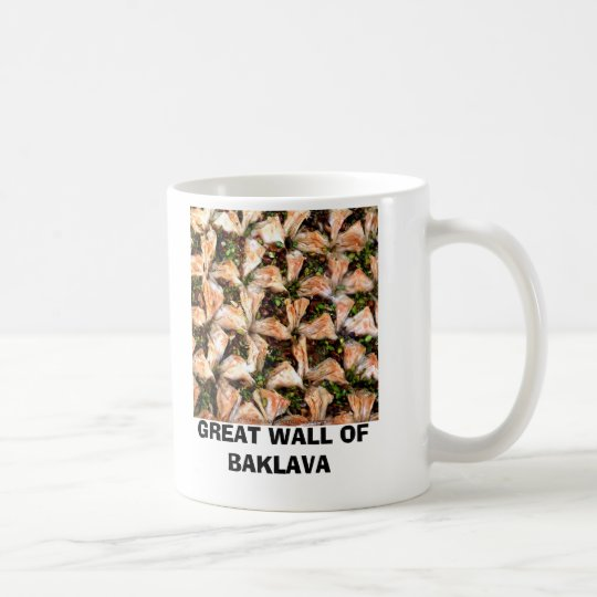 GREAT WALL OF BAKLAVA COFFEE MUG