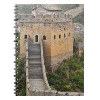 Great Wall of China at Jinshanling, China, Asia 2 Notebooks