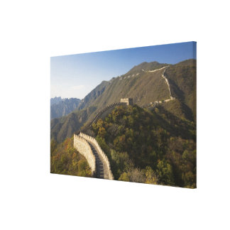 Great Wall of China at Mutianyu 2 Canvas Print