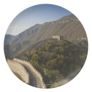 Great Wall of China at Mutianyu 2 Party Plates
