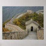 Great Wall of China at Mutianyu Poster