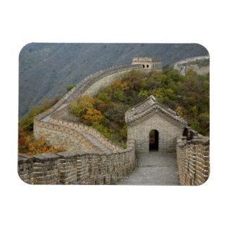 Great Wall of China at Mutianyu Rectangle Magnets