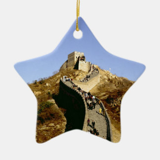 Great Wall of China Ceramic Star Decoration