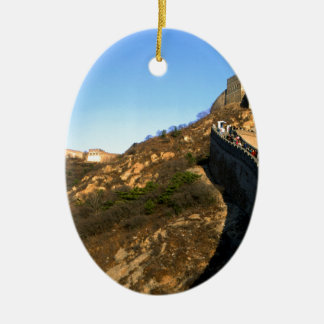 great wall of China Christmas Ornament