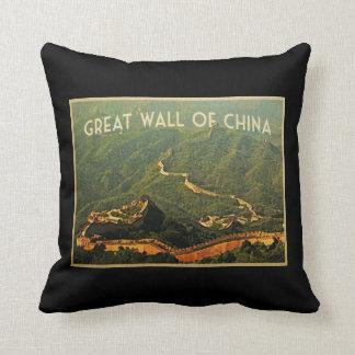Great Wall Of China Cushion
