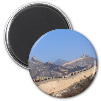 Great Wall of China in winter Refrigerator Magnets