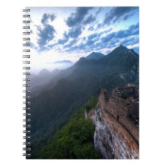 Great Wall of China, JianKou unrestored section. 2 Notebook