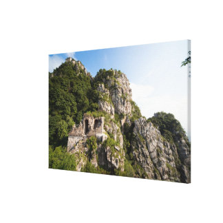 Great Wall of China, JianKou unrestored section. 4 Canvas Print