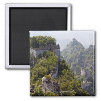Great Wall of China, JianKou unrestored section. 5 Refrigerator Magnet