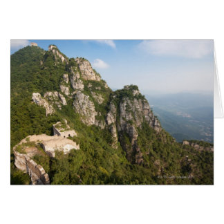 Great Wall of China, JianKou unrestored section. 6 Card