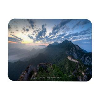 Great Wall of China, JianKou unrestored section. 8 Rectangular Photo Magnet