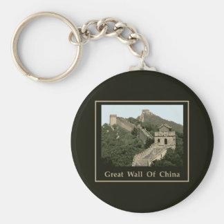 Great Wall Of China Key Ring