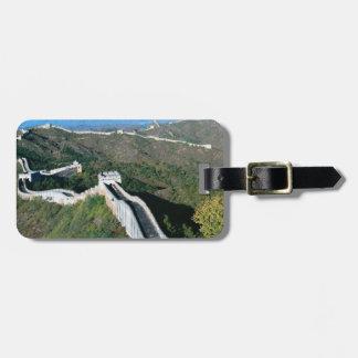 Great Wall Of China Luggage Tag